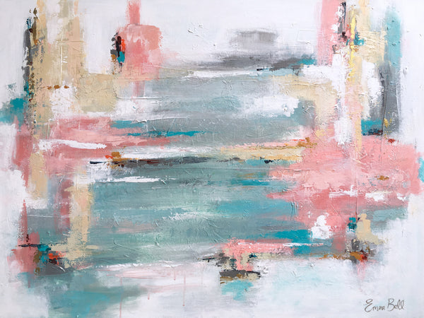 Ocean Haze painting Emma Bell - Christenberry Collection