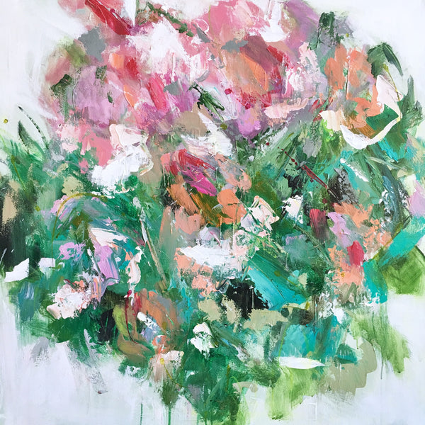 Spring Bouquet painting Emma Bell - Christenberry Collection