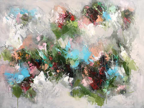 Rose Garden Abstract Giclee | Christenberry Collection