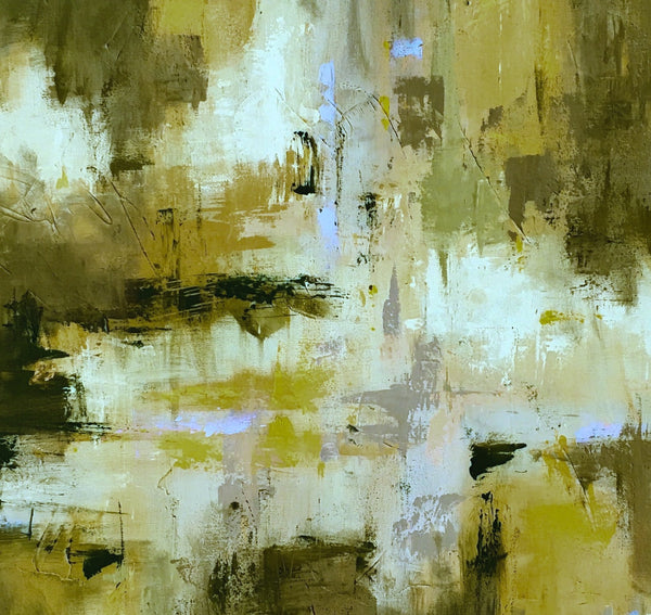 Deep Gold Hue painting Emma Bell - Christenberry Collection