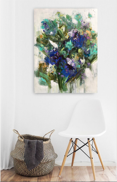 Iris in Bloom Giclee | Christenberry Collection