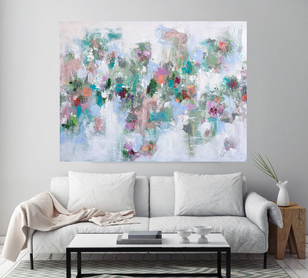 Spring Floral Persuasion painting Emma Bell - Christenberry Collection