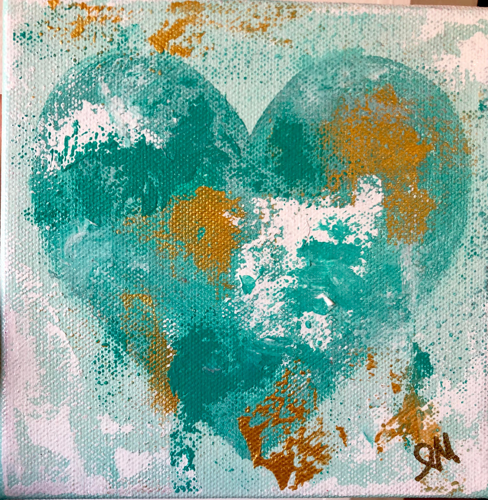 BE MINE 1 painting Lori Mitchell - Christenberry Collection