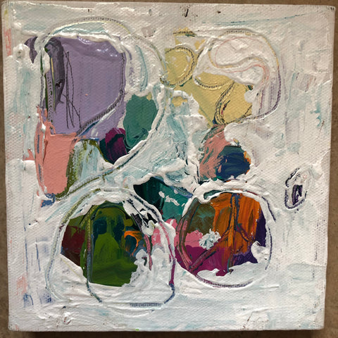 Abstract 3 painting Lynnette Driver - Christenberry Collection