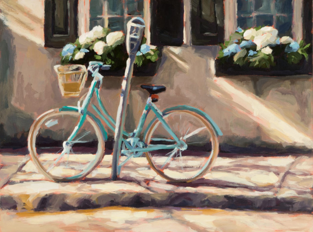 Cruiser Aglow painting Kelly Berger - Christenberry Collection