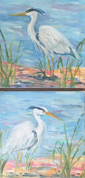 Heron 1 and 2 | Christenberry Collection