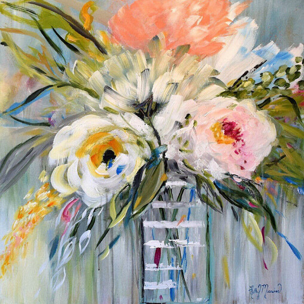 Vienna was her Forte painting Kathy Morawiec - Christenberry Collection