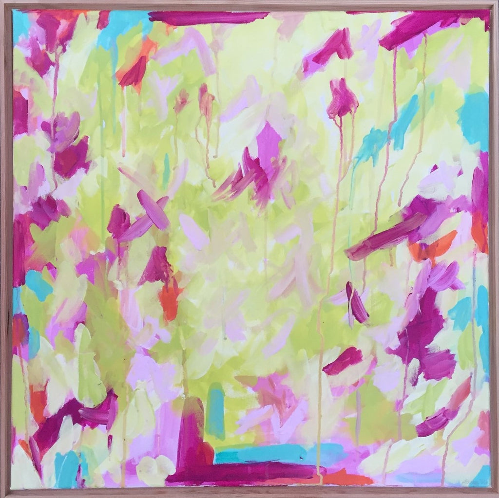 Confetti painting Jane Marie Edwards - Christenberry Collection