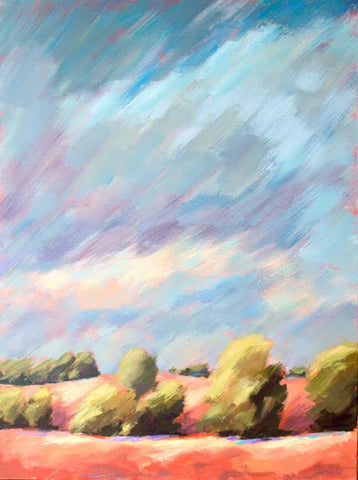 Breeze painting Kelly Berger - Christenberry Collection
