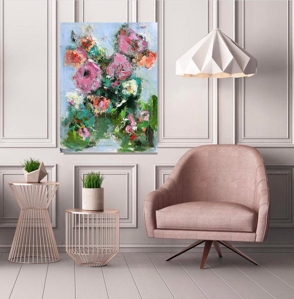 Spring in Bloom painting Emma Bell - Christenberry Collection