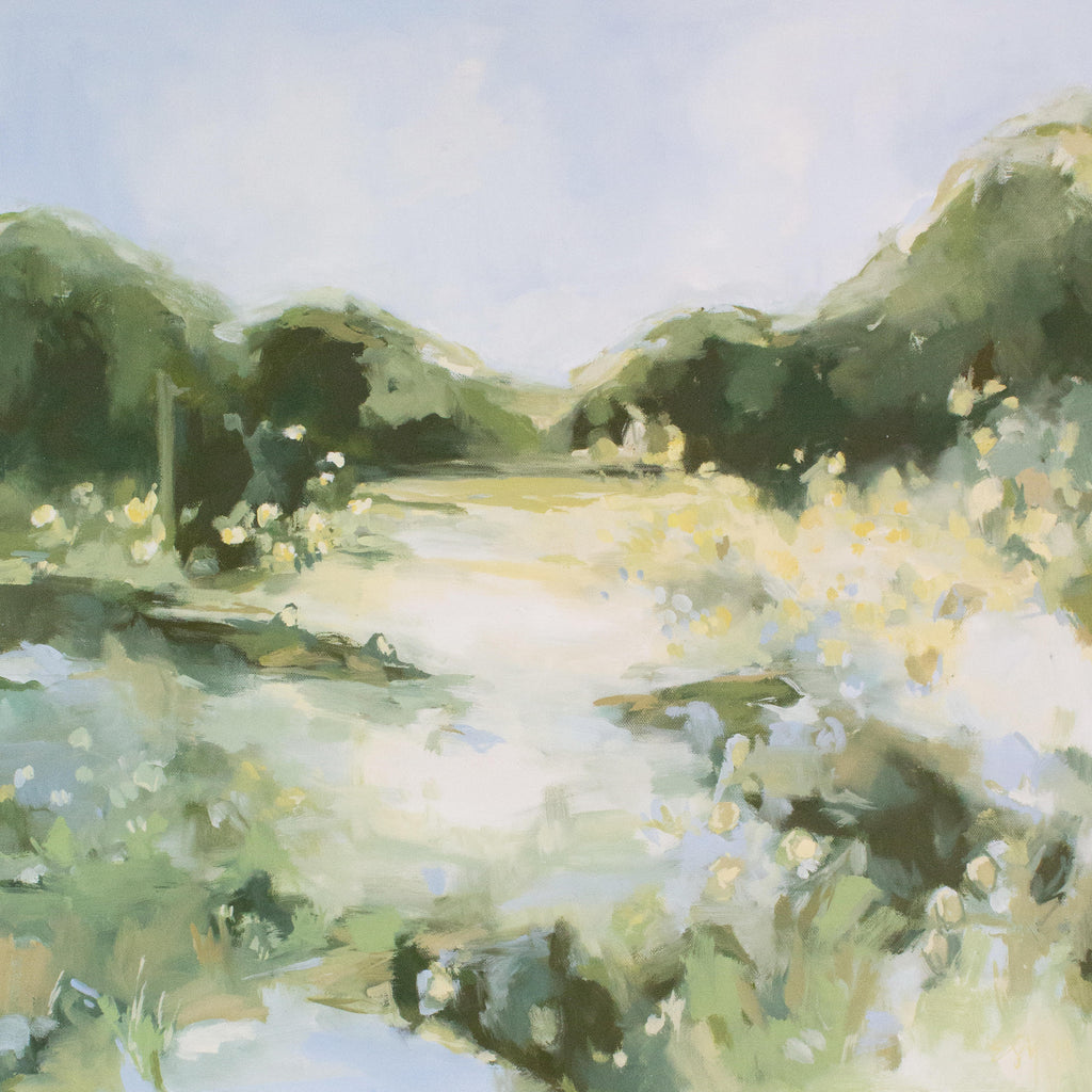 Endless Spring painting Elizabeth McLaurin - Christenberry Collection