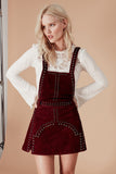JAMESON LEATHER OVERALL DRESS