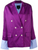KATHERINE BLAZER PURPLE STRIPES - Mulaner