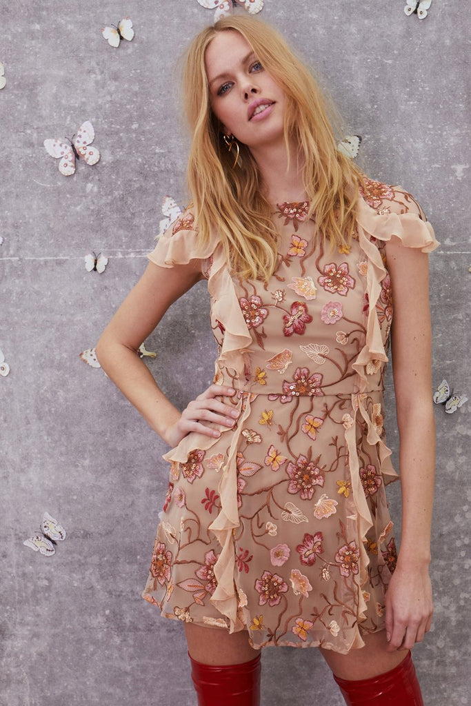BOTANIC SHORT SLEEVE DRESS