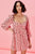 Tallulah Swing Dress Pink - Mulaner