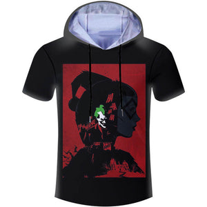 "Super Cool ""Harley Quinn & The Joker"" Summer Hoodies"