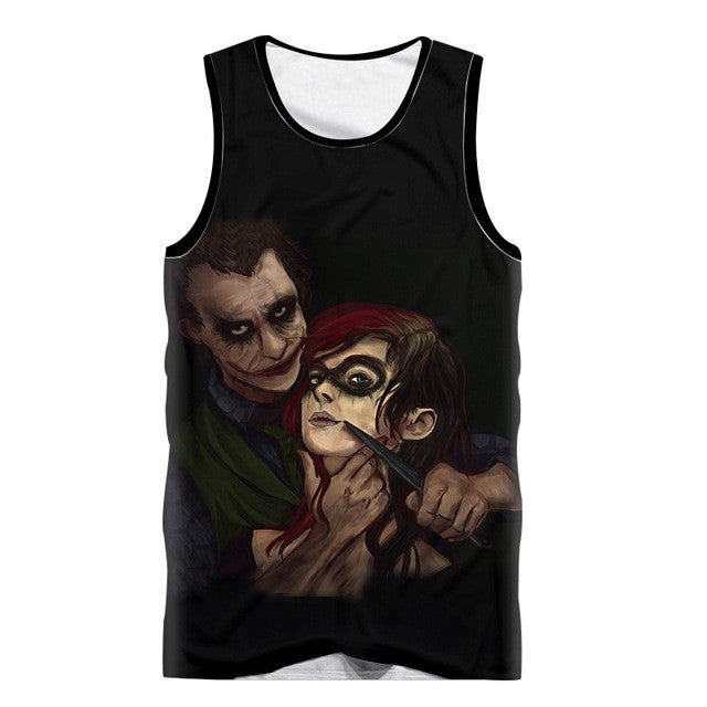 Joker & Harley 3D Tank top - Summer Collection