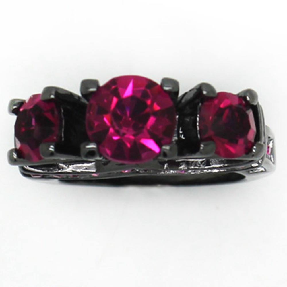 Ring - Super Hot Black Rhodium Quinn Ring