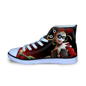 Shoes - Harley Quinn High-Top Unisex Casual Shoes Size 35-45