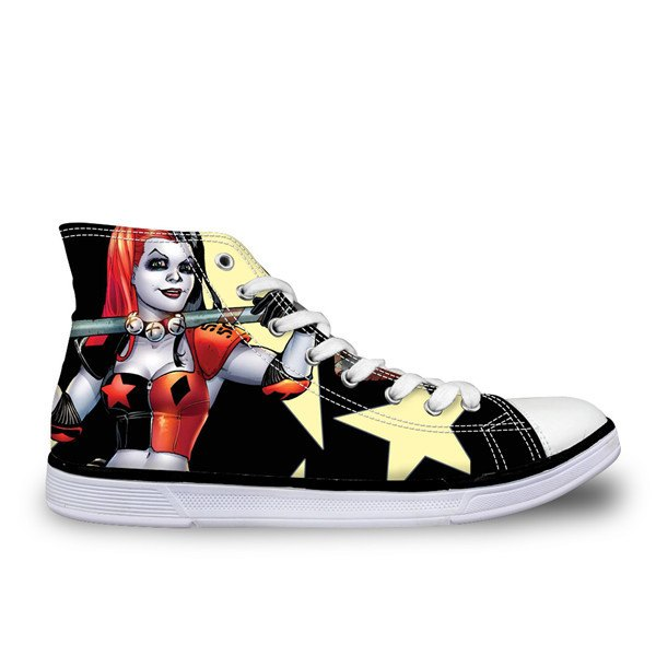 Shoes - Harley Quinn Printed Shoes