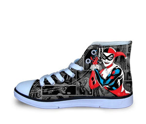 Shoes - Harley Quinn Unisex Canvas  Shoes (U.S Size)