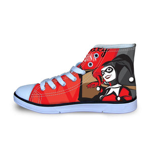 Shoes - Harley Quinn Women Canvas Shoes (U.S Size)