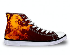 Shoes - House Lannister Unisex Canvas Shoes (U.S Size)