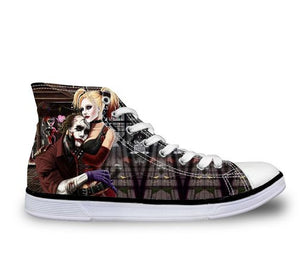 Shoes - Joker & Harley Canvas Shoes (U.S Size)