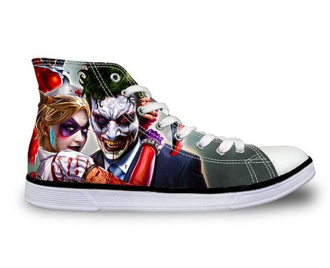 Shoes - Joker & Harley Canvas Unisex Shoes (U.S Size)