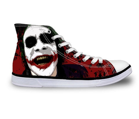 Shoes - The Joker Canvas Shoes (U.S Size)