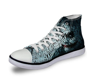Shoes - The Joker Canvas Unisex Shoes (U.S Size)
