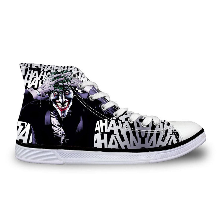 Shoes - The Joker High-Top  Printed Shoes,Unisex Casual Shoes Size 35-45