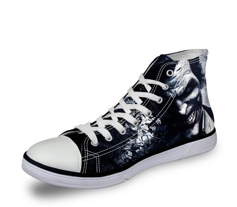 Shoes - The Wicked Joker Canvas Unisex Shoes (U.S Size)