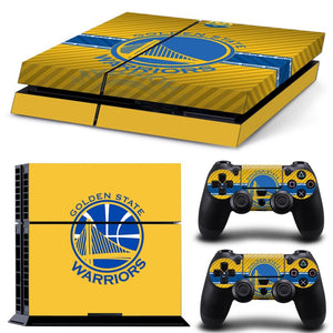 Skin - Golden State Warriors Ps4 Skin Game Skin Stickers For Playstation