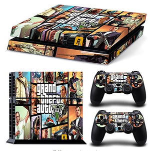 Skin - GTA Skin Sticker For PS4