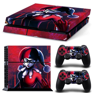 Skin - Harley Quinn Design Skin Sticker For PS4