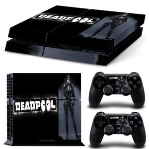 Skin - Lady Deadpool Design Skin Sticker For PS4