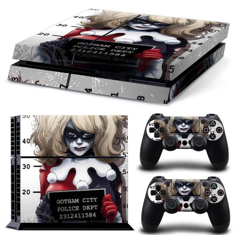 Skin - Prisoner Harley Quinn Design Skin Sticker For PS4
