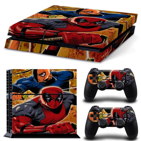 Skin - Super Cool Deadpool Design  Skin Sticker For Ps4