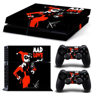 Skin - Super Cute Harley Quinn Design Skin Sticker For PS4