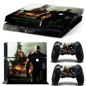 Skin - The Avengers Premium Vinyl Sticker For Ps4 Console And Controllers 4