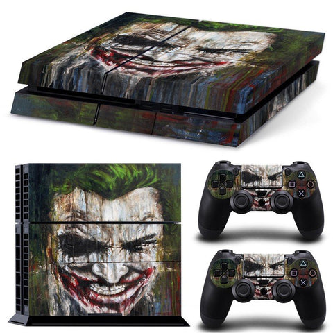 Skin - The Joker Design Skin Sticker For PS4