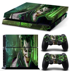 Skin - The Joker Skin Sticker For Playstation 4