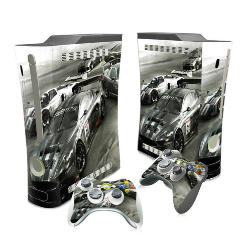 Skin - Vinyl Skin Sticker Protector For Microsoft Xbox 360 Original Fat Skins Stickers For Xbox360