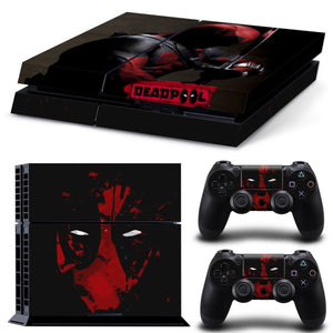 Skin - Wicked Deadpool Skin Sticker For Ps4