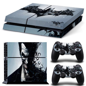 Skin - Wicked Joker/Batmen Collection Ps4 Skin Sticker