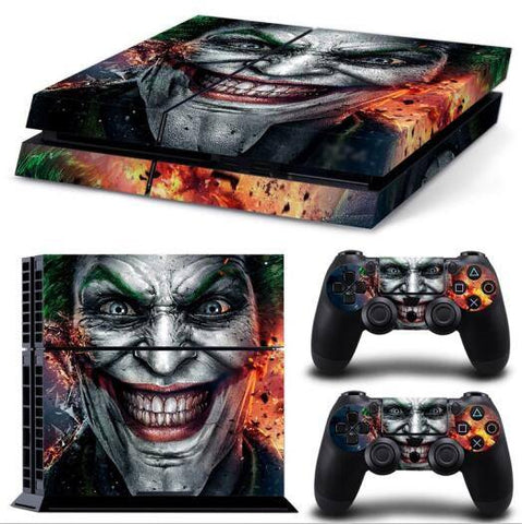 Skin - Wicked Joker Ps4 Skin