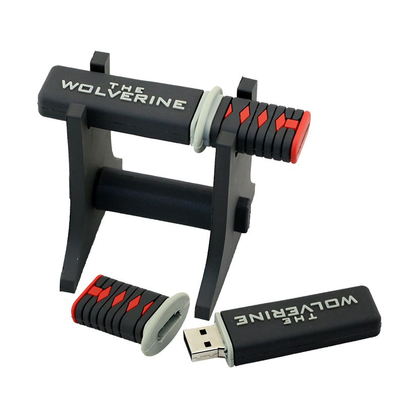 Special Edition -  The Wolverine  8gb 16gb 32gb 64gb Samurai Usb Flash Drive