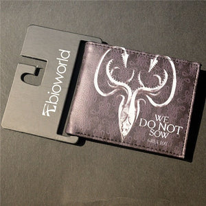Wallet - Leather Wallet Game Of Thrones