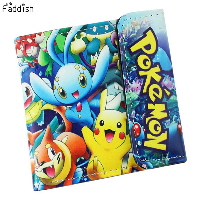 Wallet - Pokemon Pocket Monster Pikachu  Two/Three Fold Wallets